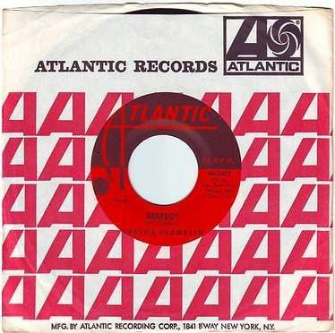 ARETHA FRANKLIN - RESPECT - ATLANTIC