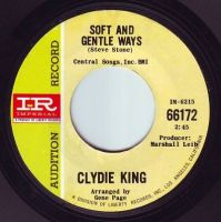 CLYDIE KING - SOFT AND GENTLE WAYS - IMPERIAL DEMO