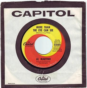 AL MARTINO - MORE THAN THE EYE CAN SEE - CAPITOL
