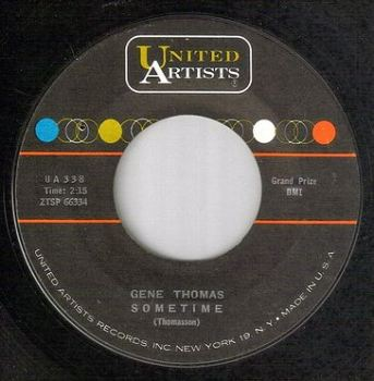 GENE THOMAS - SOMETIME - UA