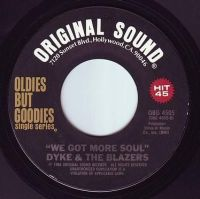 DYKE & THE BLAZERS - WE GOT MORE SOUL - ORIGINAL SOUND