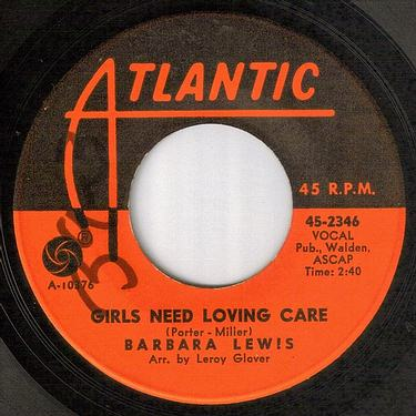BARBARA LEWIS - GIRLS NEED LOVING CARE - ATLANTIC