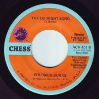 SOLOMON BURKE - THE DO RIGHT SONG - CHESS