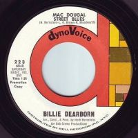 BILLIE DEARBORN - MAC DOUGAL STREET BLUES - DYNOVOICE DEMO