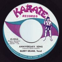 BARRY GRAND - ANNIVERSARY SONG - KARATE