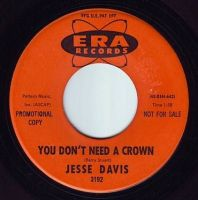 JESSE DAVIS - YOU DON'T NEED A CROWN - ERA DEMO