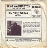 GENO WASHINGTON - OH, PRETTY WOMAN - DJM DEMO