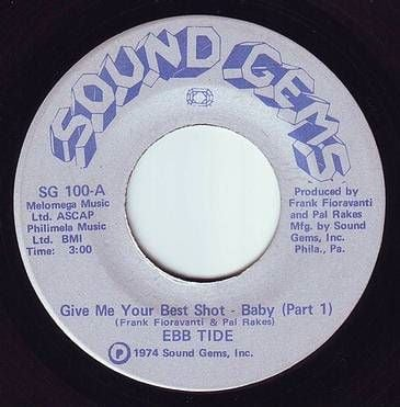EBB TIDE - GIVE ME YOUR BEST SHOT BABY - SOUND GEMS