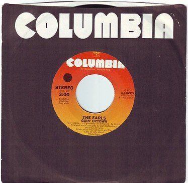 EARLS - GOIN' UPTOWN - COLUMBIA