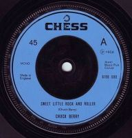 CHUCK BERRY - SWEET LITTLE ROCK AND ROLLER - CHESS