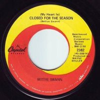 BETTYE SWANN - CLOSED FOR THE SEASON - CAPITOL