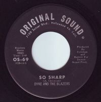 DYKE & THE BLAZERS - SO SHARP - ORIGINAL SOUND
