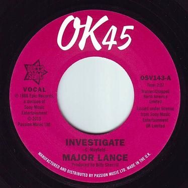 MAJOR LANCE - INVESTIGATE - OK45