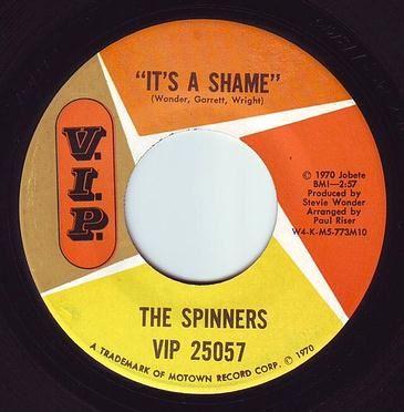 SPINNERS - IT'S A SHAME - V.I.P.