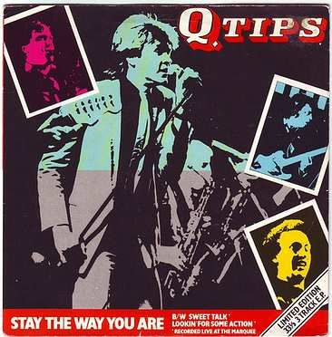 Q TIPS - STAY THE WAY YOU ARE - CHRYSALIS