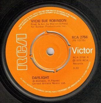 VICKI SUE ROBINSON - DAYLIGHT - RCA