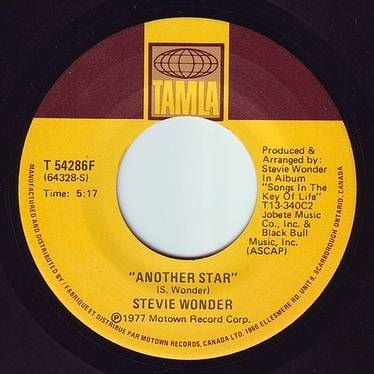 STEVIE WONDER - ANOTHER STAR - TAMLA