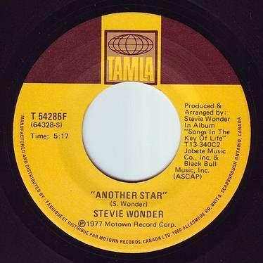 STEVIE WONDER - ANOTHER STAR - TAMLA