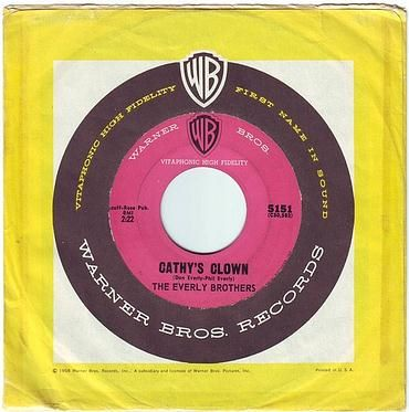 EVERLY BROTHERS - CATHY'S CLOWN - WB
