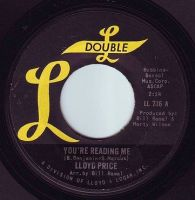 LLOYD PRICE - YOU'RE READING ME - DOUBLE L