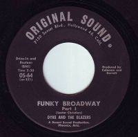 DYKE & THE BLAZERS - FUNKY BROADWAY - ORIGINAL SOUND