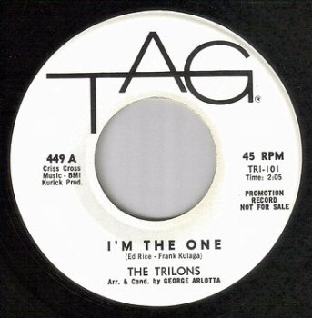 TRILONS - I'M THE ONE - TAG dj