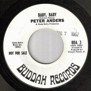 PETER ANDERS - BABY, BABY - BUDDAH dj