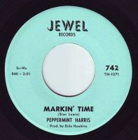 PEPPERMINT HARRIS - MARKIN' TIME - JEWEL
