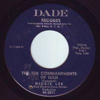 NICKIE LEE - THE TEN COMMANDMENTS OF MAN - DADE