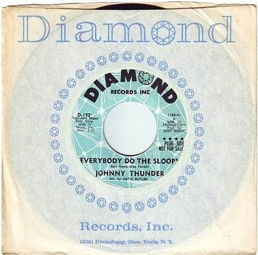 JOHNNY THUNDER - EVERYBODY DO THE SLOOPY - DIAMOND DEMO
