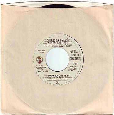 ASHFORD & SIMPSON - NOBODY KNOWS - WB DEMO