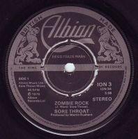SORE THROAT - ZOMBIE ROCK - ALBION