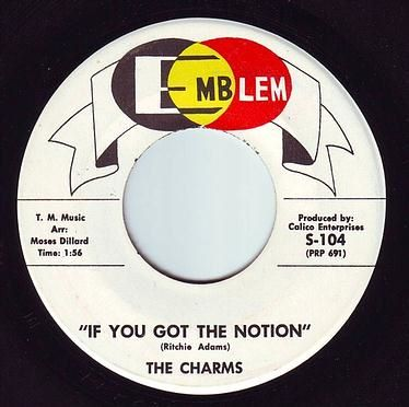 CHARMS - IF YOU GOT THE NOTION - EMBLEM