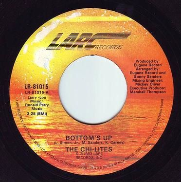 CHI-LITES - BOTTOM'S UP - LARC