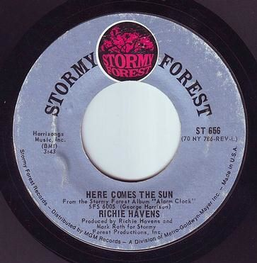 RICHIE HAVENS - HERE COMES THE SUN - STORMY FOREST