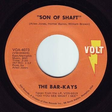 BAR-KAYS - SON OF SHAFT - VOLT