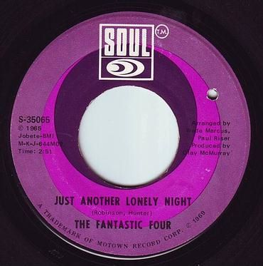 FANTASTIC FOUR - JUST ANOTHER LONELY NIGHT - SOUL