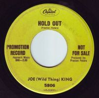 JOE (Wild Thing) KING - HOLD OUT - CAPITOL DEMO
