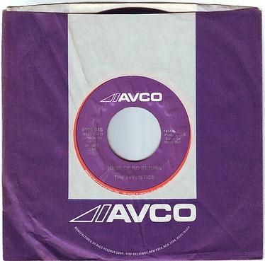 STYLISTICS - POINT OF NO RETURN - AVCO