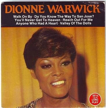 DIONNE WARWICK - WALK ON BY - SCOOP EP