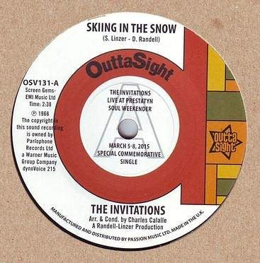 INVITATIONS - SKIING IN THE SNOW - OUTTA SIGHT