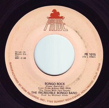 INCREDIBLE BONGO BAND - BONGO ROCK - PRIDE