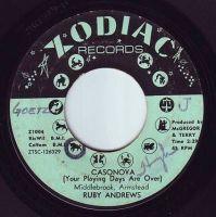 RUBY ANDREWS - CASONOVA - ZODIAC