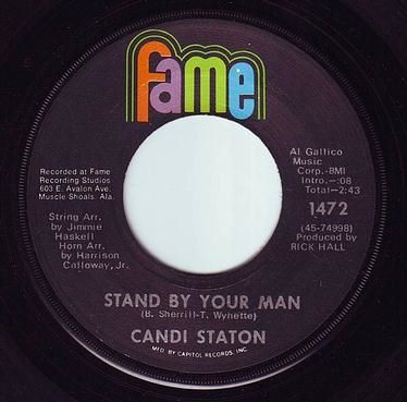 CANDI STATON - STAND BY YOUR MAN - FAME