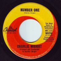 CHARLIE WRIGHT - NUMBER ONE - CAPITOL