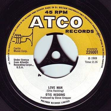 OTIS REDDING - LOVE MAN - ATCO