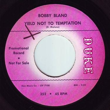 BOBBY BLAND - YIELD NOT TO TEMPTATION - DUKE DEMO