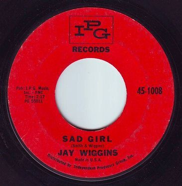 JAY WIGGINS - SAD GIRL - IPG