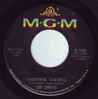 LOU CHRISTIE - LIGHTNIN' STRIKES - MGM