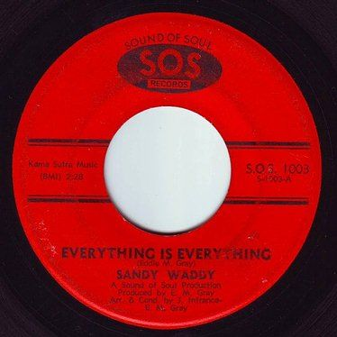 SANDY WADDY - EVERYTHING IS EVERYTHING - SOS